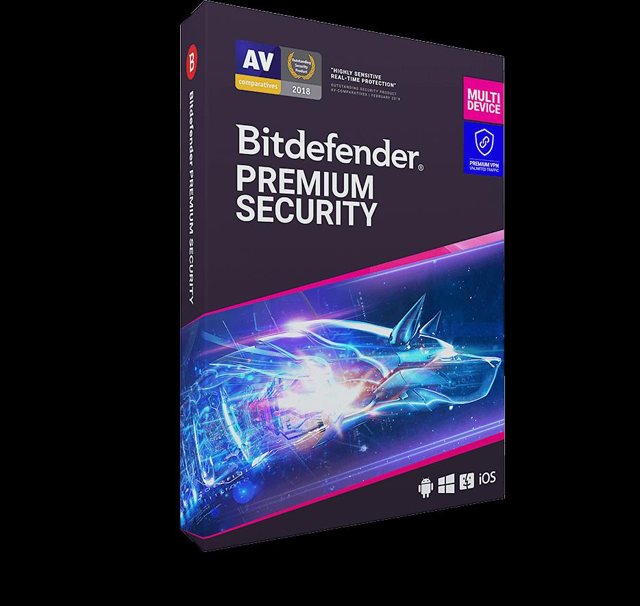 Read more -  Bitdefender Premium Security
