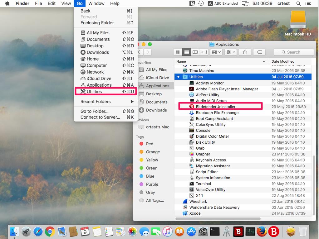 D sinstaller bitdefender antivirus for mac nouvelle version for Fenetre utilitaire mac