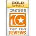 TopTenReviews - Gold Award 2011