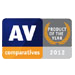 AV-Comparatives - Product Of The Year 2012